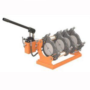160mm kézi hidraulikus KPE cső csőhegesztő tompahegesztő gép bérlése kölcsönzése