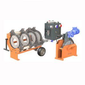 315 mm hidraulikus csőhegesztő tompahegesztő gép bérlése kölcsönzése kpe vízcsövekhez gázcsövekhez
