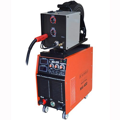 400 A ipari védőgázas CO hegesztő gép bérlése kölcsönzése