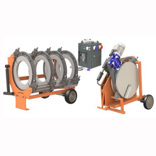 630mm csőhegesztő tompahegesztő gép bérlése kölcsönzése víz gáz közmű építéshez