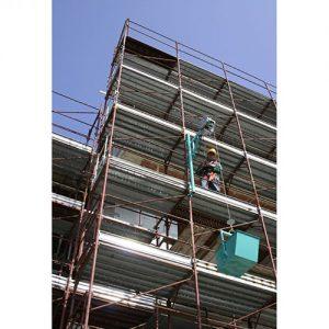 Imer építési építkezési építőipari csörlő bérlés kölcsönzés állványra