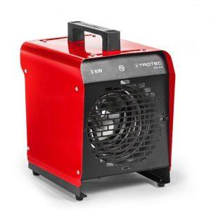 Trotec 3kw elektromos hőlégbefúvó melegítő hősugárzó bérlése kölcsönzése