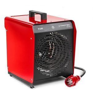 Trotec 9kw elektromos hőlégbefúvó melegítő hősugárzó bérlése kölcsönzése