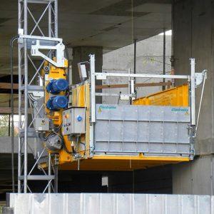 electroelsa ehpm 1200 egyoszlopos 1500kg teherfelvonó teherlift teheremelő kölcsönzése bérlése
