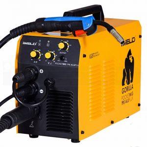 iweld aluflux 215 CO védőgázos hegesztő gép bérlése kölcsönzése
